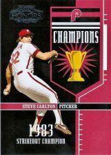 Buy 2004 Playoff Honors Champions #6 Steve Carlton (0107/1983)