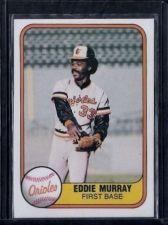 Buy 1981 Fleer #184 Eddie Murray NM-MT