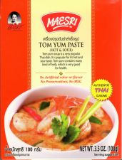 Buy Maesri Tom Yum Paste Authentic Thai Cuisine Free shipping with Tracking Number