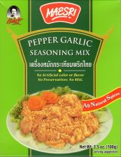Buy Maesri Pepper Garlic Seasoning Mix Authentic Thai Cuisine Free Ship w/ Tracking