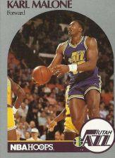 Buy 1990-91 NBA Hoops Karl Malone Card - Utah Jazz