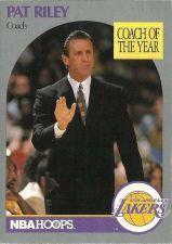 Buy 1990-91 NBA Hoops Pat Riley Card - Los Angeles Lakers