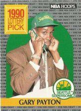 Buy 1990-91 NBA Hoops Gary Payton Rookie Card - Seattle Supersonics