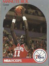 Buy 1990-91 NBA Hoops Manute Bol Card - Philadelphia 76ers