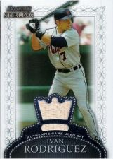 Buy Ivan Rodriguez 2005 Bowman Sterling Jersey Card #BS-IR