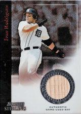 Buy Ivan Rodriguez 2004 Bowman Sterling Jersey Card #BS-IR