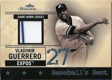 Buy Vladimir Guerrero 2004 Fleer Showcase BB/VG Game-Worn Jersey