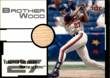Buy Vladimir Guerrero 2001 Fleer Premium Brother Wood #BW1 Game Used Bat