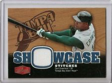 Buy Carl Crawford 2006 Flair Showcase Showcase Stitiches #SS-CA
