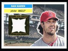 Buy Dan Haren 2012 Topps Archives Relic Jersey Card # 56R-DH