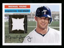 Buy Michael Young 2012 Topps Archives Relic Jersey Card # 56R-MY