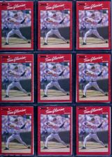 Buy Lot of 9 1990 Donruss #145 Tom Glavine NM