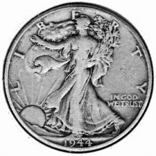 Buy 1944 Walking Liberty Half Dollar