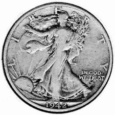 Buy 1942-S Walking Liberty Half Dollar