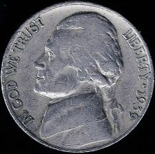 Buy 1939-P Jefferson Nickel
