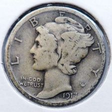 Buy 1917-S Mercury Dime