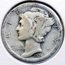 Buy 1924-S Mercury Dime