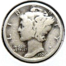 Buy 1926 Silver Mercury Dime