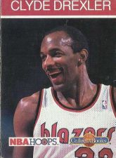 Buy 1990-91 NBA Hoops Collect-a-Books Clyde Drexler - Portland Trail Blazers