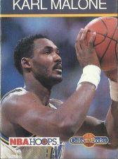 Buy 1990-91 NBA Hoops Collect-a-Books Karl Malone - Utah Jazz