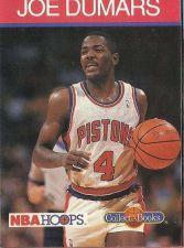 Buy 1990-91 NBA Hoops Collect-a-Books Joe Dumars - Detroit Pistons