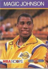 Buy 1990-91 NBA Hoops Collect-a-Books Magic Johnson - Los Angeles Lakers