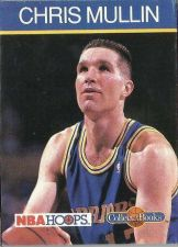 Buy 1990-91 NBA Hoops Collect-a-Books Chris Mullin - Golden State Warriors