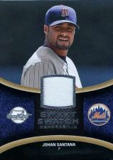 Buy 2008 Sweet Spot Johan Santana Jersey Card #SS-JS Sweet Swatch