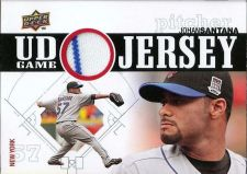 Buy 2010 Upper Deck UD Game Jersey #JS Johan Santana Card 2