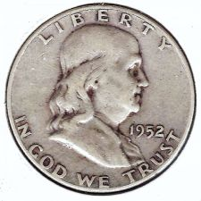 Buy 1952-D Silver Franklin Half Dollar