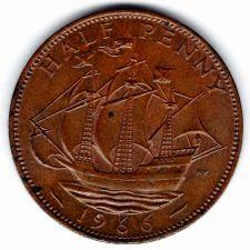 Buy 1966 Great Britain Half Penny