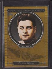 Buy 2007 Topps Distinguished Service #DS17 Curtis Lemay - NM-MT