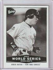 Buy 2004 Upper Deck Vintage Black and White #318 Hideki Matsui WSH - NM-MT *Rare*