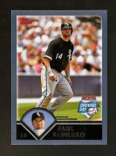 Buy 2003 Topps Opening Day #81 Paul Konerko