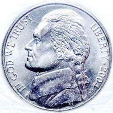 Buy 2004-D BU Jefferson Nickel