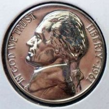 Buy 1961 Proof BU Jefferson Nickel