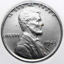 Buy 1943-P Uncirculated Steel Lincoln Wheat Cent