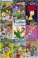 Buy Lot of 9 Simpsons Comics
