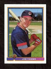Buy 1991 Bowman Jim Thome Rookie Card #68