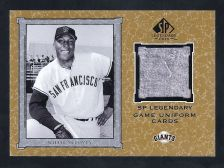 Buy 2001 Willie McCovey SP Legendary Cuts J-WM Game Used Jersey
