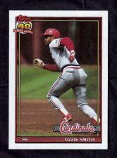 Buy 1991 Topps #130 Ozzie Smith
