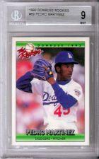Buy Beckett 9 Mint 1992 Donruss Rookies 69 Pedro Martinez