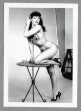 Buy BETTY PAGE REPRINT PHOTO 5x7 # 300