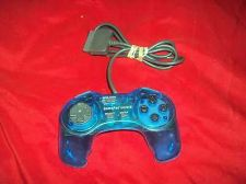 Buy Playstation PS1 GAMEPAD COLORS PERFORMANCE CONTROLLER P-107GSN GOOD CONDITION