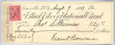 Buy New York Lowville Cancelled Check Black River National Bank Check # Dated:~6