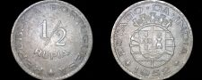 Buy 1952 Indian Half 1/2 Rupia World Coin - Portuguese India
