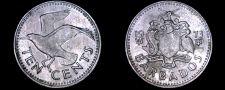 Buy 1973 Barbados 10 Cent World Coin