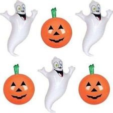 Buy Inflatable Halloween Decorations Set 3 Pumpkin Inflates 3 Ghost Inflates Hallowe