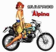 Buy BULTACO Cemoto ALPINA PARTS DIAGRAM MANUAL 100pg for Motorcycle Repair & Service