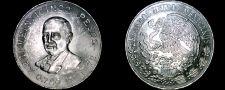 Buy 1972 Mexican 25 Peso World Silver Coin - Mexico